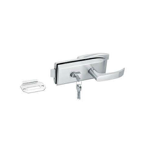 Glass Door Locks LC-039, Stainless steel