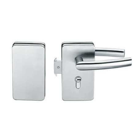 Glass Door Locks LC-032, Stainless steel