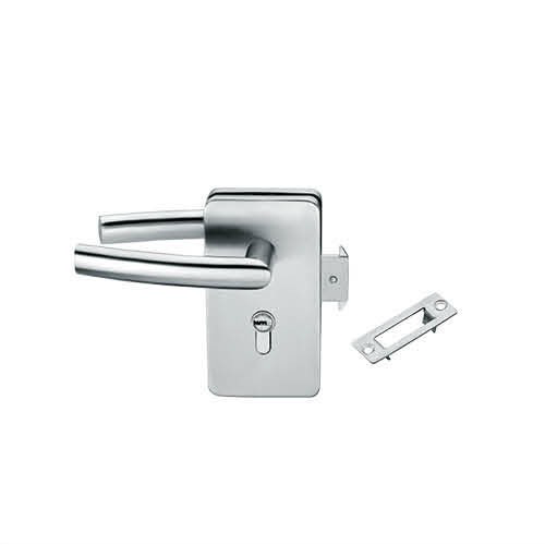 Glass Door Locks LC-033, Stainless steel