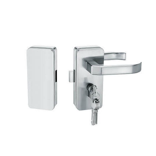 Glass Door Locks LC-035, Stainless steel