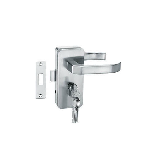 Glass Door Locks LC-036, Stainless steel