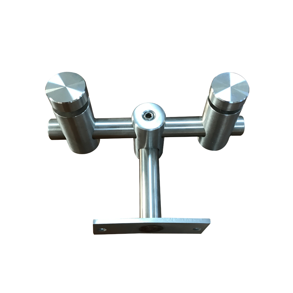 handrail fittings glass, tempered Glass Standoff RS1221
